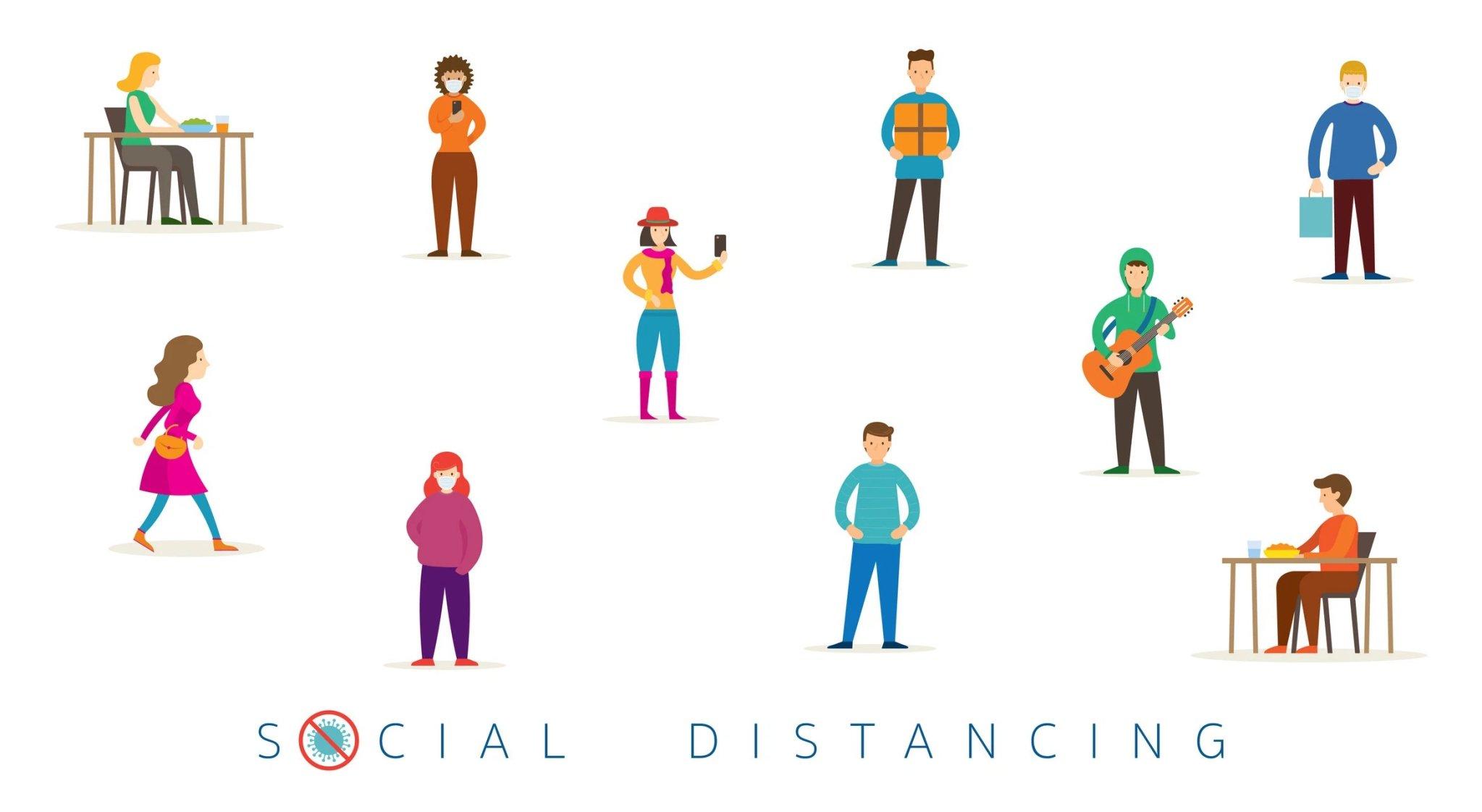 Social distancing la gi? Nen va khong nen lam gi khi thuc hien cach ly xa hoi