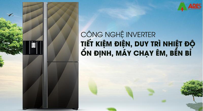 cong nghe Inverter Hitachi R-M700AGPGV4X
